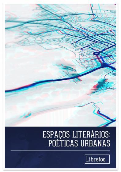 Capa para Espaços Literários: Poéticas Urbanas